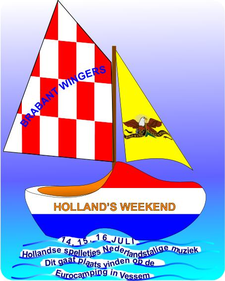 HOLLANDS WEEKEND  14 t/m 16 JULI